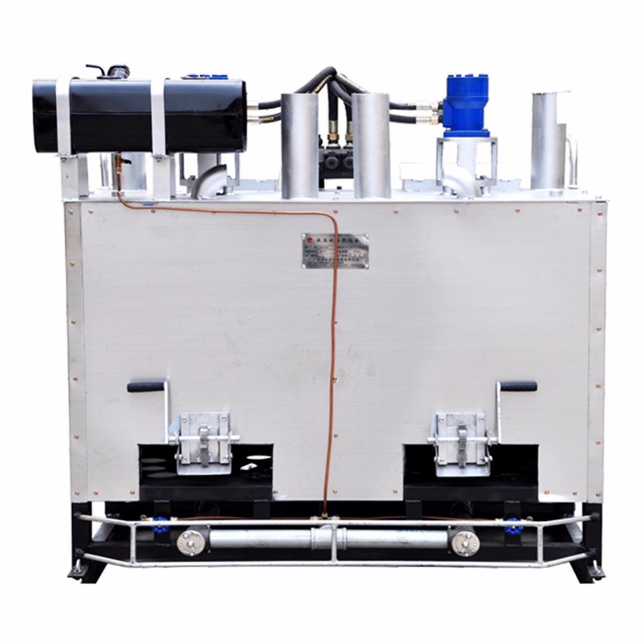 燃油煤气两用液压双缸热熔釜