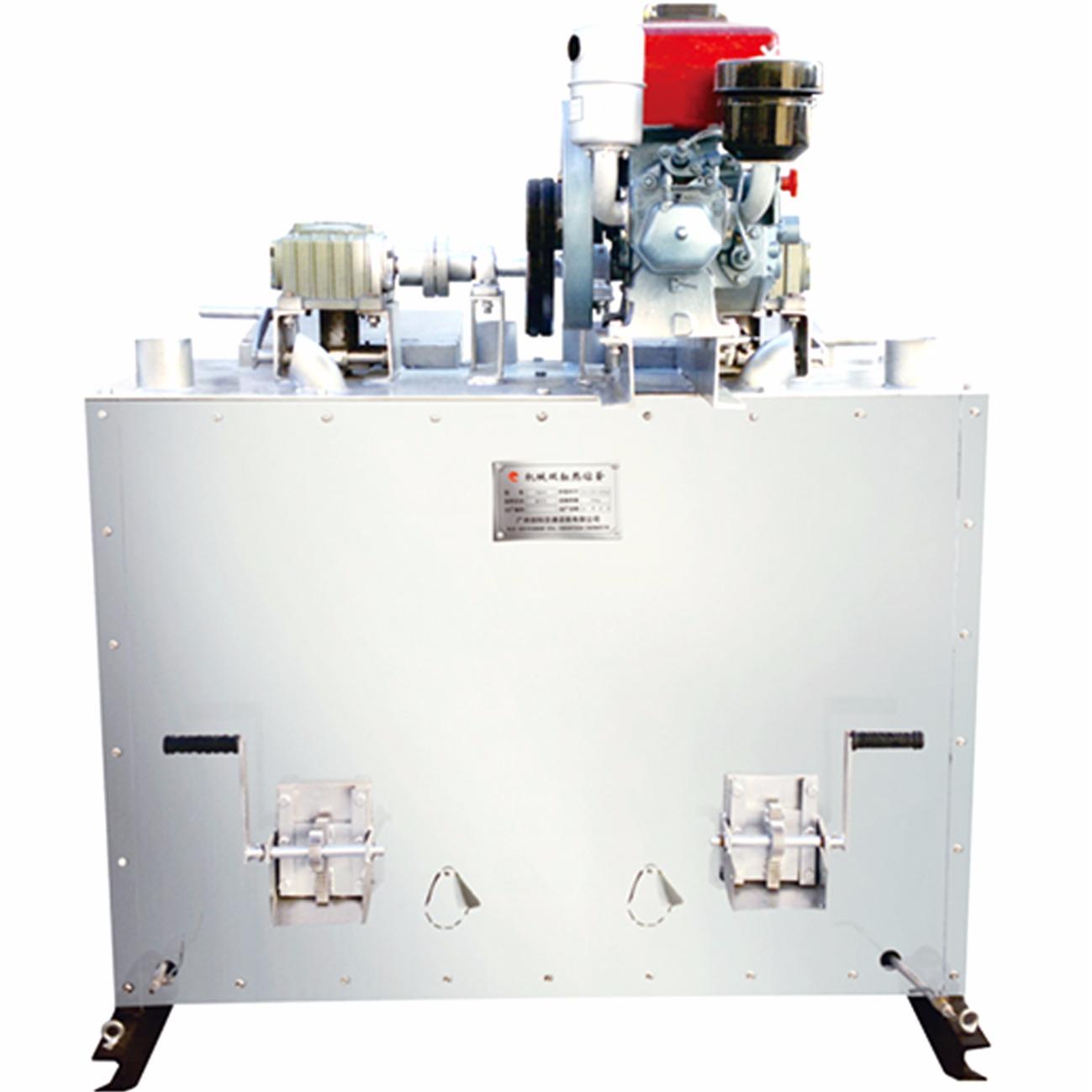 机械双缸热熔釜
