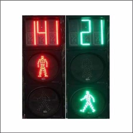 倒计时器交通信号灯