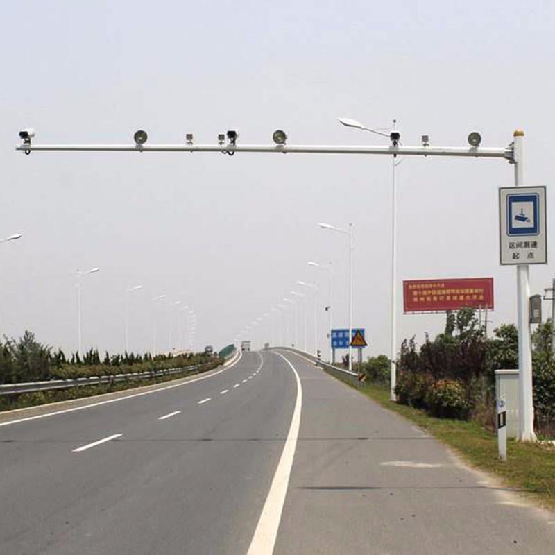 八角电警杆H6.5米L6米