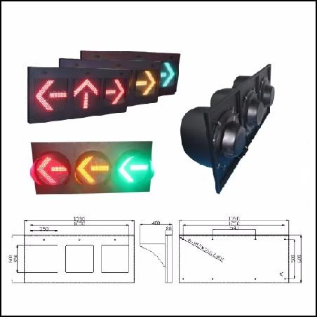 400mm框架式机动车交通信号灯