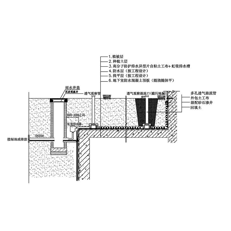 1-10虹吸式排水顶板 Model (1)