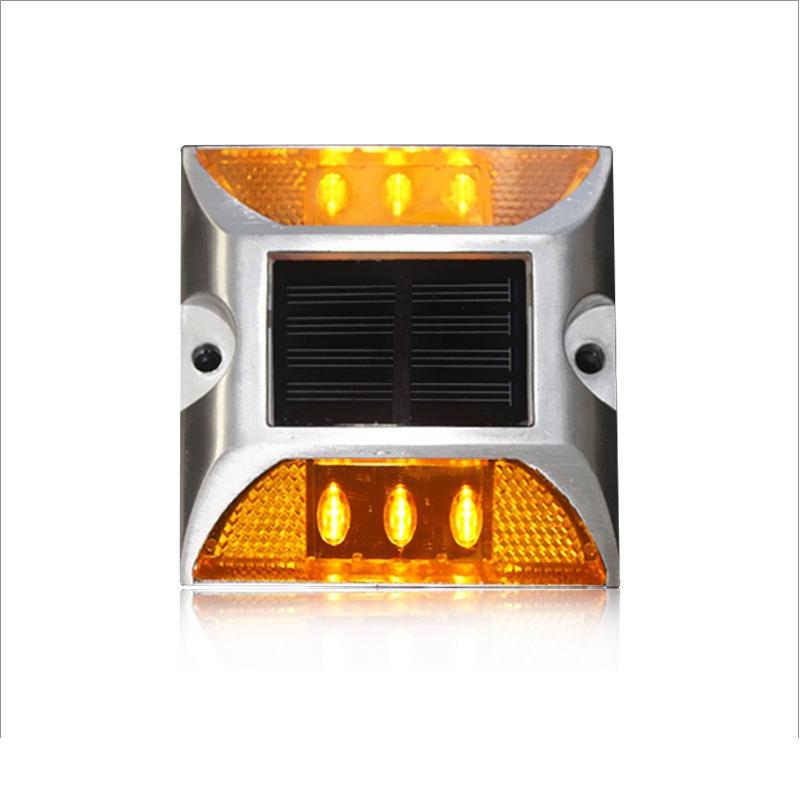 双面六灯方形太阳能道钉